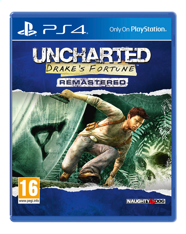 Image pour PS4 Uncharted: Drake's Fortune Remastered FR/ANG à partir de DreamLand