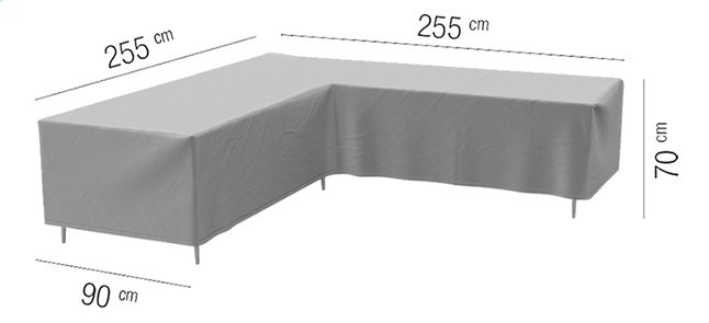 Afbeelding van AquaShield beschermhoes voor loungeset L 255 x B 90 x H 70 cm polyester from DreamLand