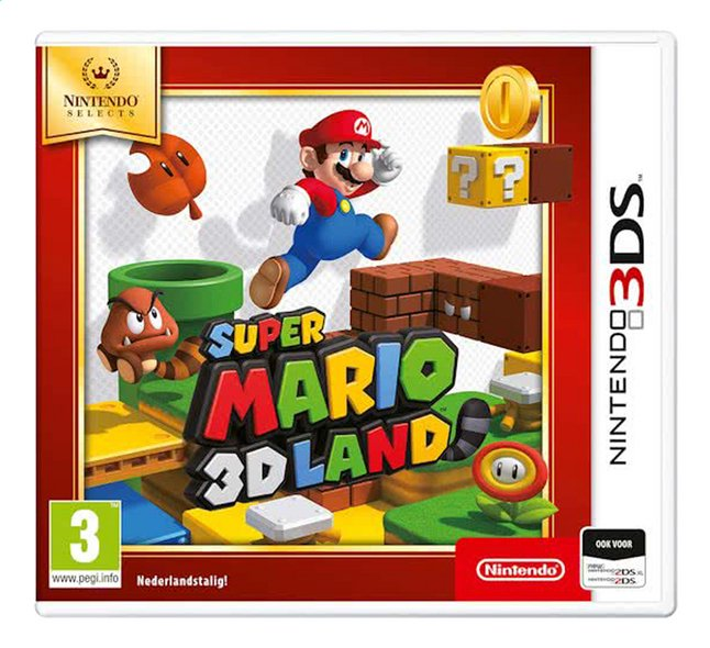 3DS Super Mario 3D Land Select ENG
