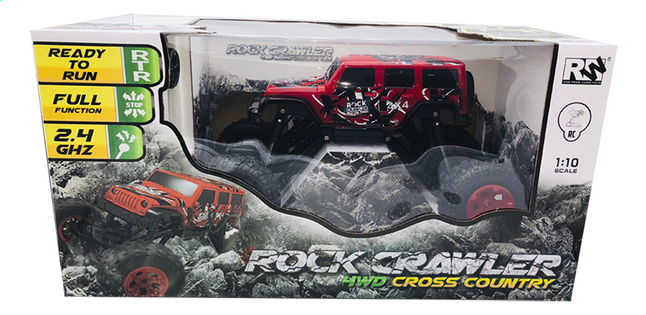 Afbeelding van Auto RC Pick-up 4WD rood from DreamLand