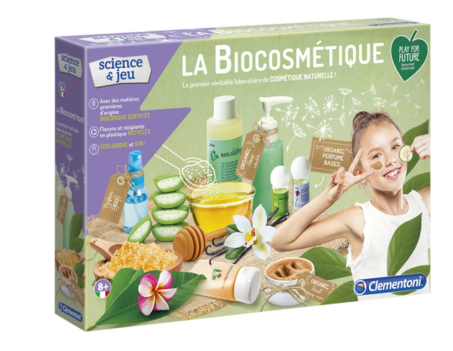 Clementoni Science & Jeu Play For Future - La Biocosmétique