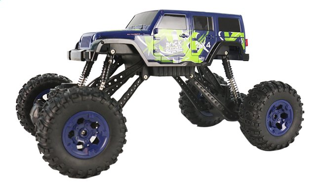 Afbeelding van Auto RC Pick-up 4WD blauw from DreamLand