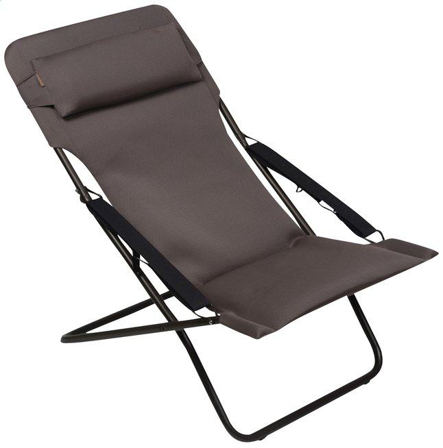 Lafuma Chaise Longue Transabed Xl Plus Air Comfort Taupe Dreamland