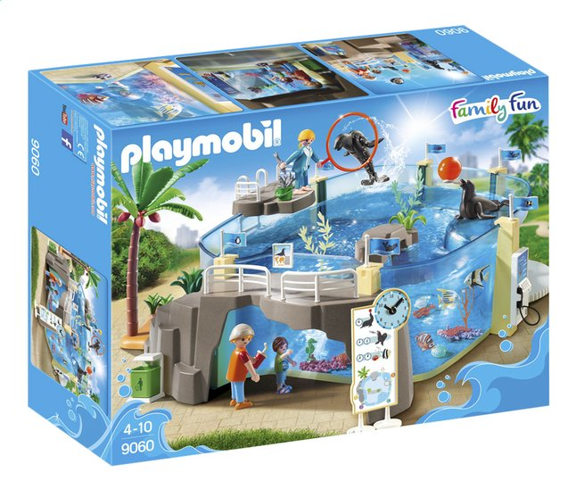 Afbeelding van PLAYMOBIL Family Fun 9060 Zee aquarium from DreamLand