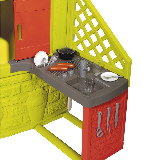 Smoby uitbreiding voor speelhuisjes Neo Jura Lodge, My Neo House en Chef House - Keuken