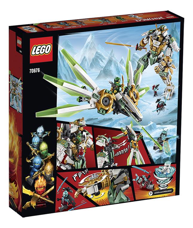 Lloyd De Lego Le Titan Ninjago 70676 Robot MqzUpGVS