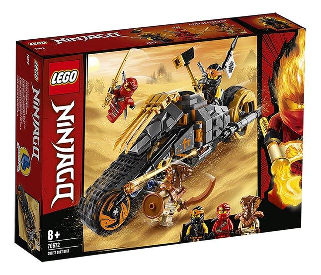 Afbeelding van LEGO Ninjago 70672 Cole's crossmotor from DreamLand