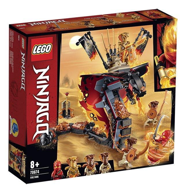 Afbeelding van LEGO Ninjago 70674 Vuurtand from DreamLand