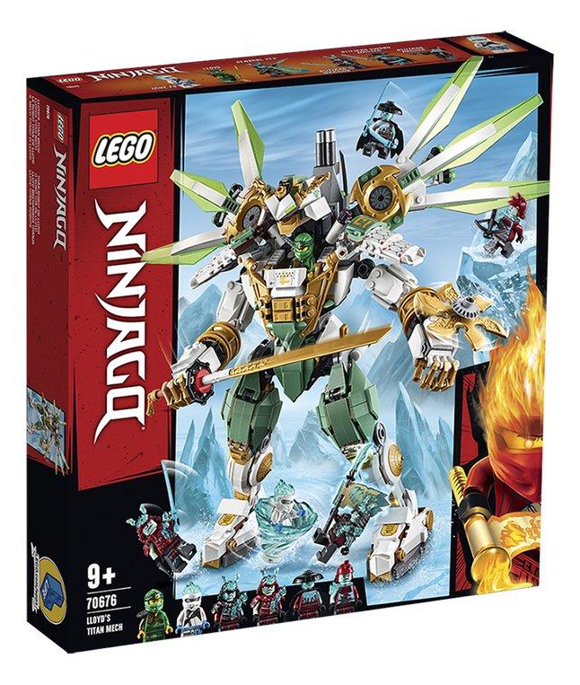 Afbeelding van LEGO Ninjago 70676 Titanium mecha van Lloyd from DreamLand
