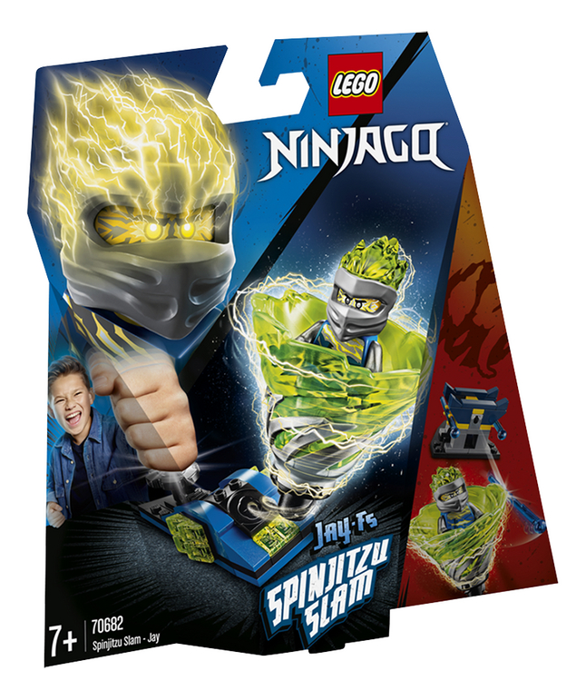Afbeelding van LEGO Ninjago 70682 Spinjitzu Slam - Jay from DreamLand