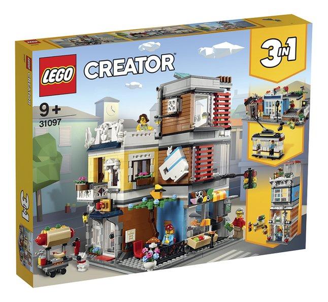 Goede LEGO Creator 3-in-1 31097 Woonhuis, dierenwinkel & café | DreamLand ID-53