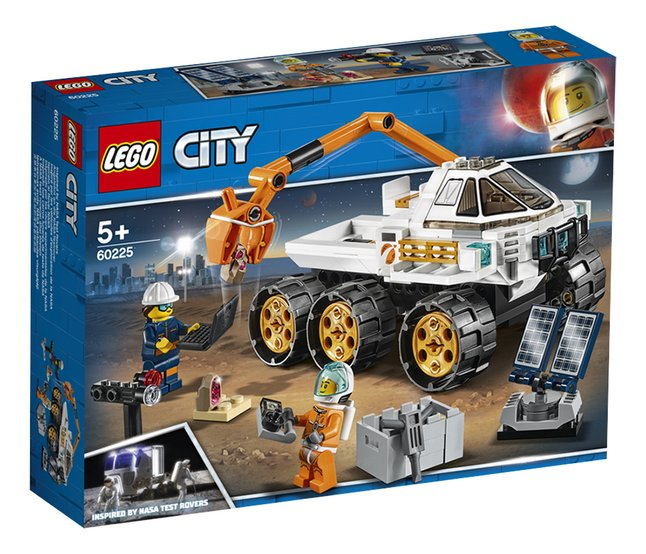 Afbeelding van LEGO City 60225 Testrit Rover from DreamLand
