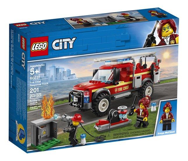 Afbeelding van LEGO City 60231 Reddingswagen van brandweercommandant from DreamLand