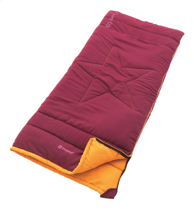Outwell sac de couchage pour enfant Champ Kids rouge/orange