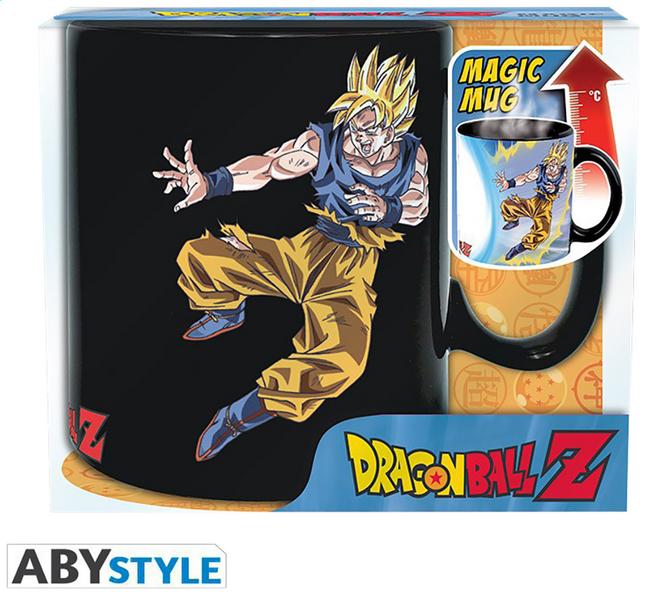 Mug magique Dragon Ball Goku vs Buu