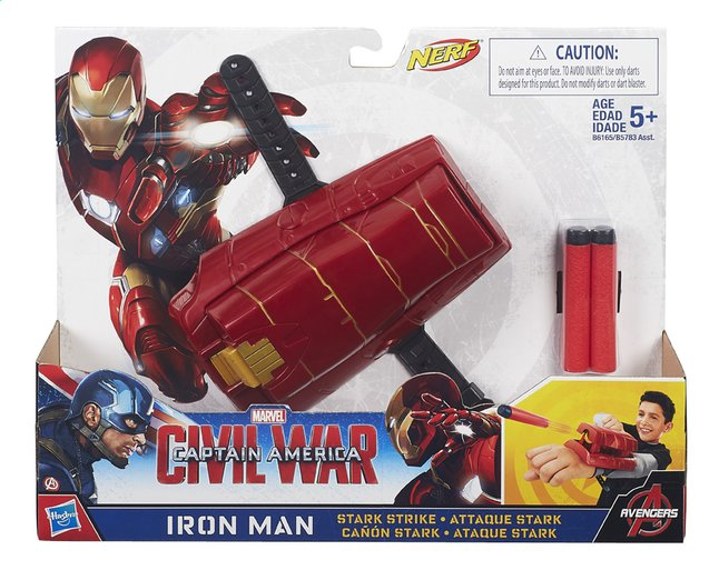 Afbeelding van Speelset Captain America: Civil War Mission Gear Iron Man Stark Strike from DreamLand