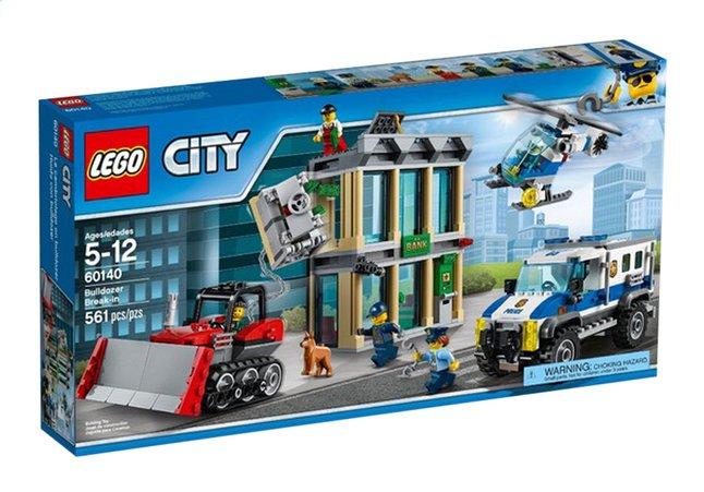 Afbeelding van LEGO City 60140 Bulldozer inbraak from DreamLand