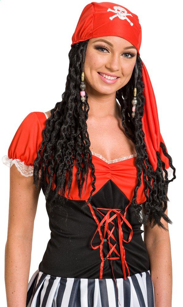Afbeelding van Pruik piraat vrouw from DreamLand