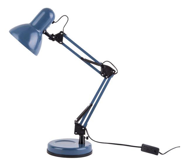Lampe de bureau Hobby Steel bleu