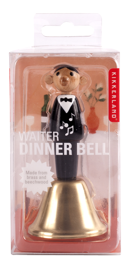 Afbeelding van Kikkerland Waiter Dinner Bell from DreamLand