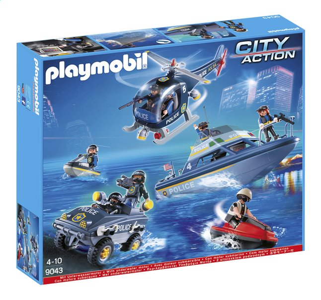 Image pour Playmobil City Action 9043 Le SWAT à partir de DreamLand