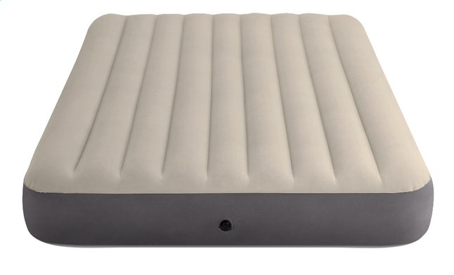 Image pour Intex matelas gonflable pour 2 personnes Dura-Beam Plus Queen gris/beige à partir de DreamLand