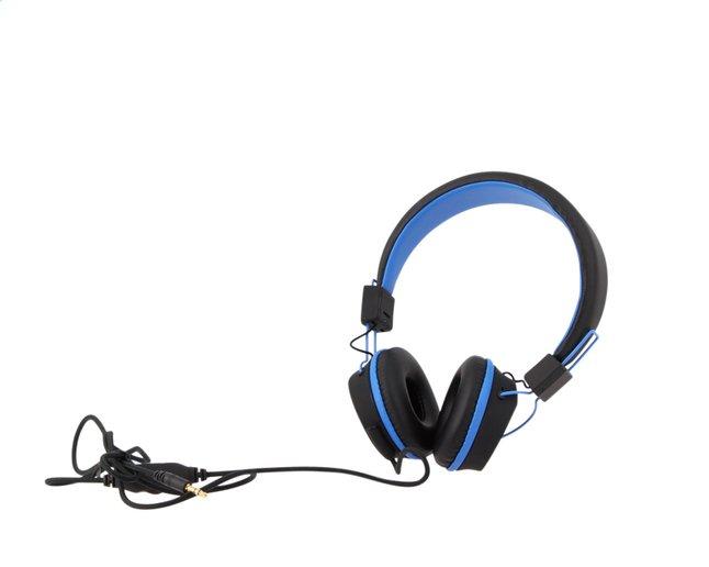 Kurio hoofdtelefoon voor kids zwart/blauw