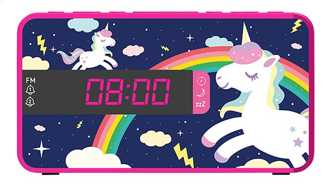Afbeelding van bigben wekkerradio RR16 unicorn 3 from DreamLand