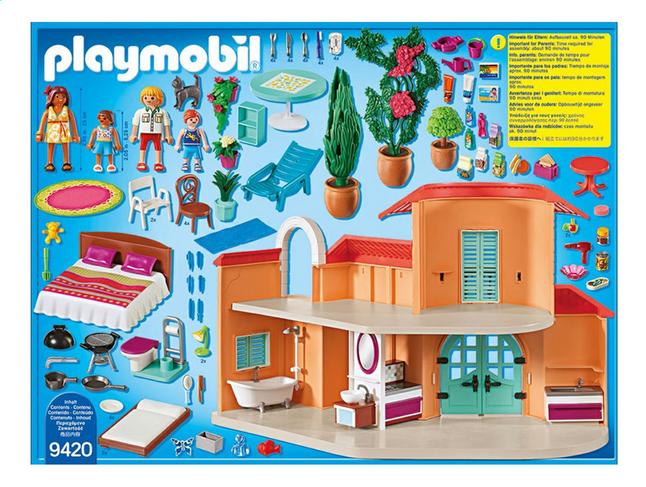 9420 Fun Villa Family Vacances Playmobil De b7yYf6g