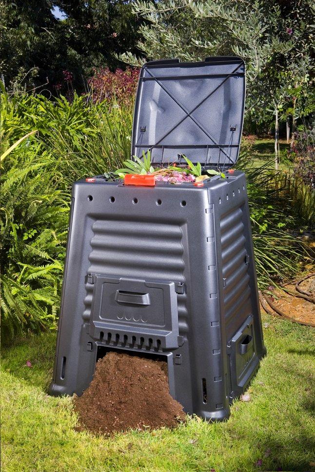Keter Composteur Mega Composter noir 650 l