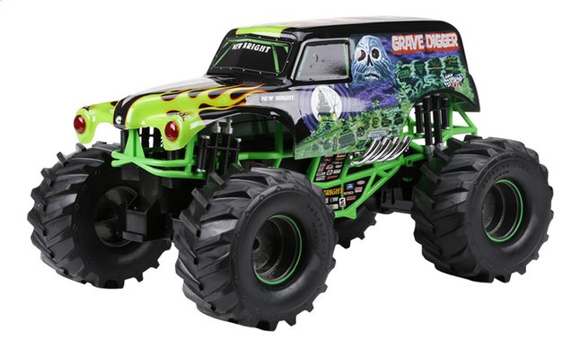 Image pour New Bright voiture RC Monster Jam Grave Digger à partir de DreamLand