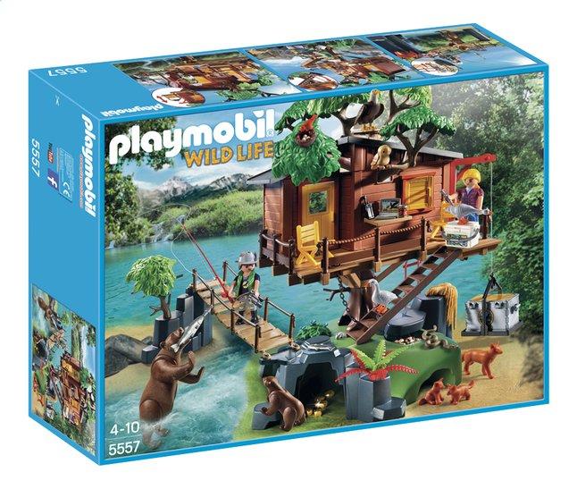 Image pour PLAYMOBIL Wild Life 5557 Cabane des aventuriers dans les arbres à partir de DreamLand
