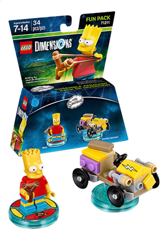 Image pour LEGO Dimensions figurine Fun Pack Simpsons 71211 Bart à partir de DreamLand
