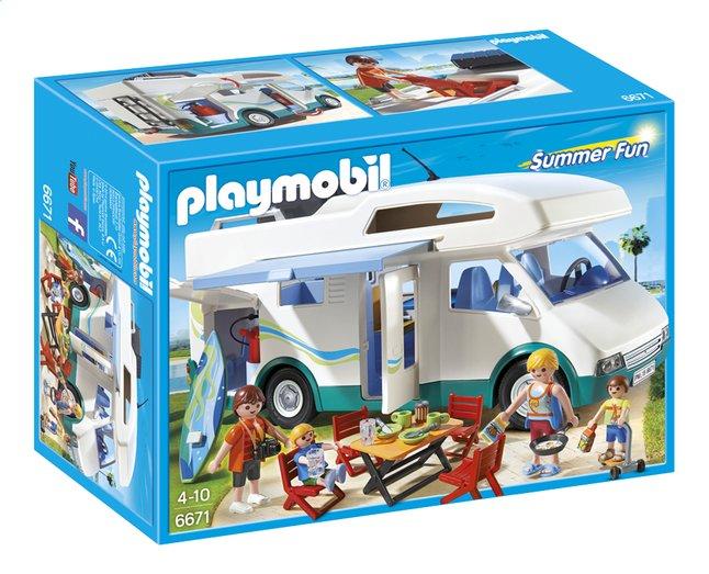 Image pour Playmobil Summer Fun 6671 Famille avec camping-car à partir de DreamLand