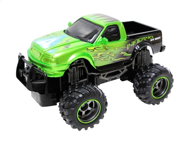 Afbeelding van New Bright auto RC Monster Truck Dragons Pick up groen from DreamLand
