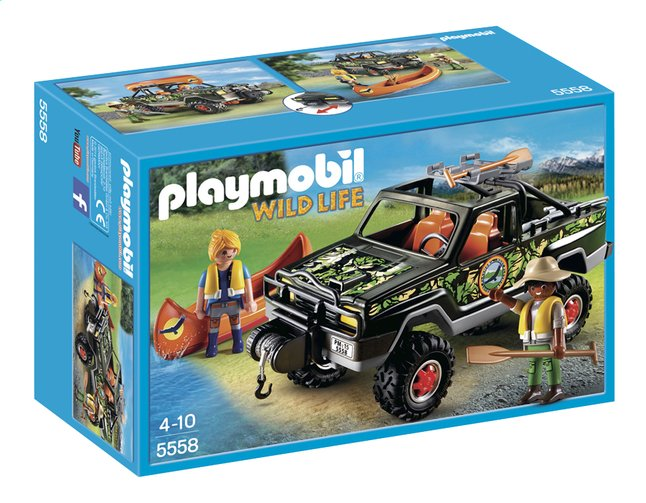 Afbeelding van Playmobil Wild Life 5558 Pickup 4x4 from DreamLand