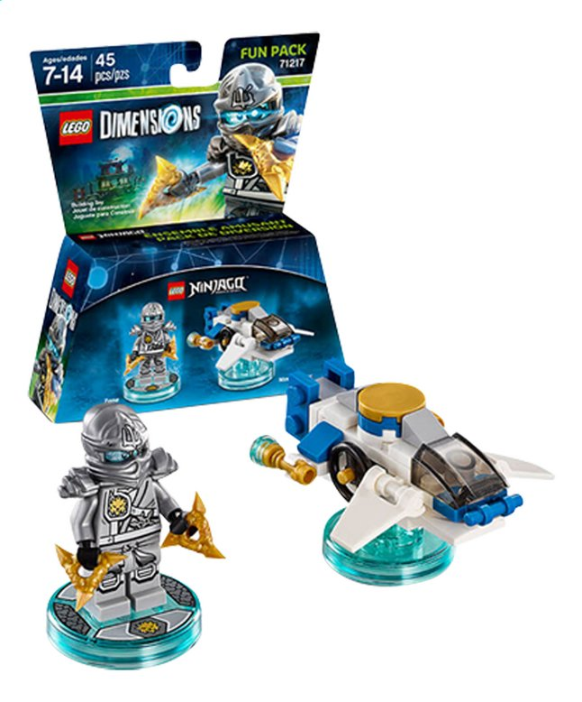 Afbeelding van LEGO Dimensions figuur Fun Pack Ninjago 71217 Zane from DreamLand