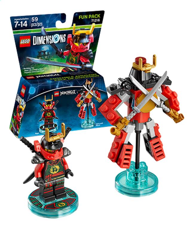 Image pour LEGO Dimensions figurine Fun Pack Ninjago 71216 Nya à partir de DreamLand