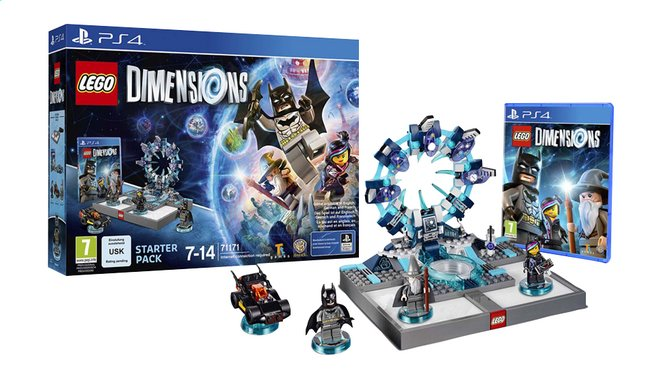 Afbeelding van PS4 LEGO Dimensions Starter Pack FR from DreamLand