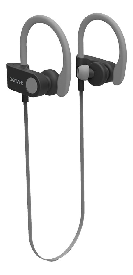 Denver Bluetooth oortelefoon BTE-110 grijs