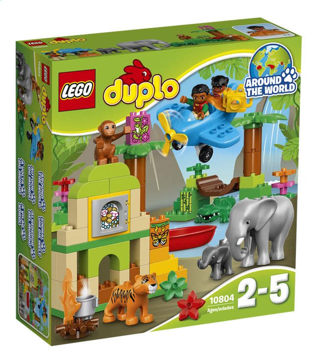 Afbeelding van LEGO DUPLO 10804 Jungle from DreamLand