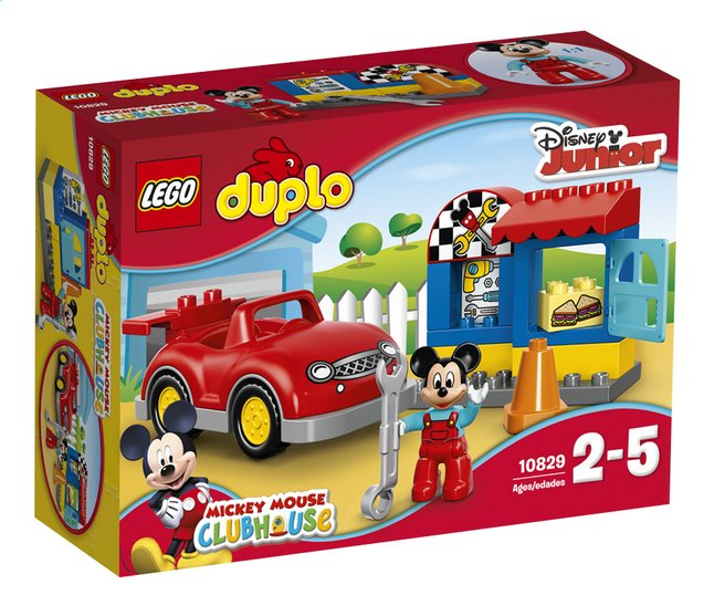 Afbeelding van LEGO DUPLO 10829 Mickey's werkplaats from DreamLand