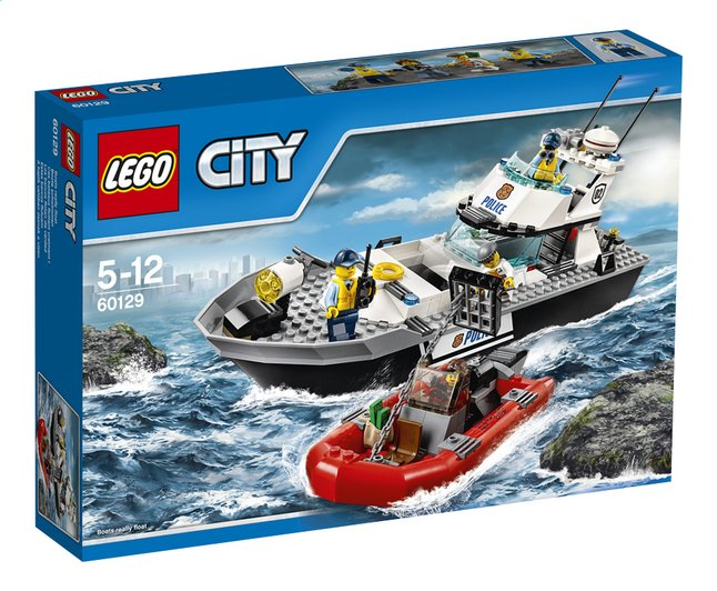 Afbeelding van LEGO City 60129 Politie patrouilleboot from DreamLand