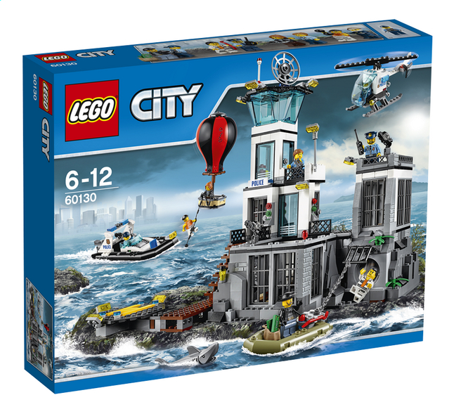 Image pour LEGO City 60130 La prison en haute mer à partir de DreamLand