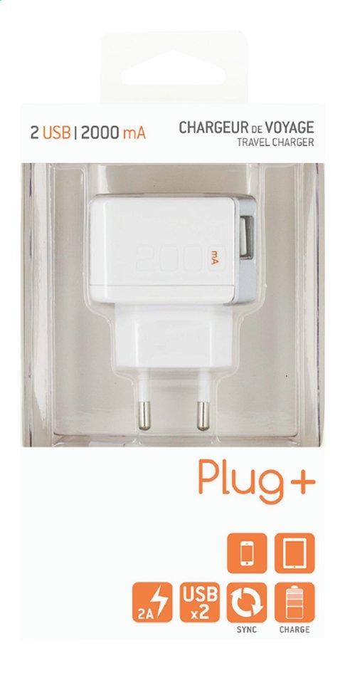 Image pour Chargeur pour tablettes et smartphones avec 2 connexions USB à partir de DreamLand
