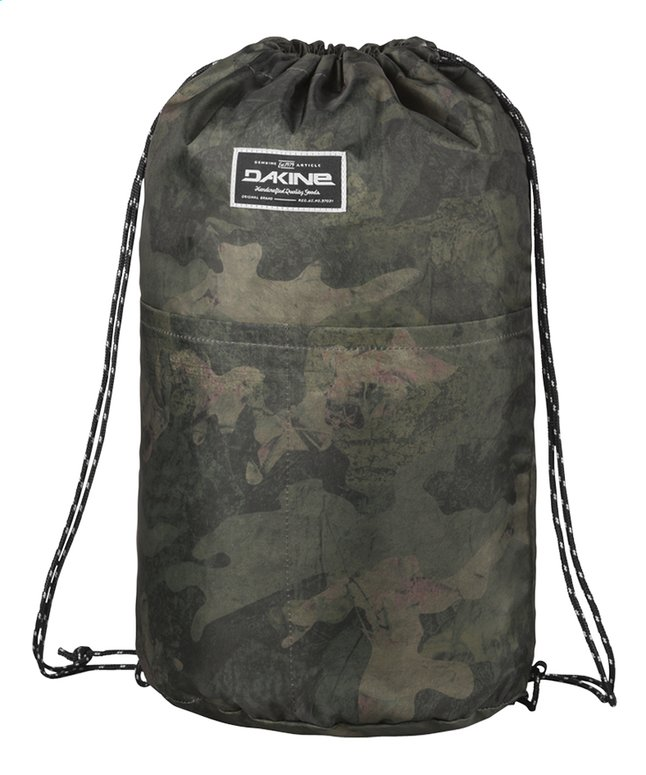 Afbeelding van Dakine turnzak Stashable Cinchpack Peat Camo from DreamLand
