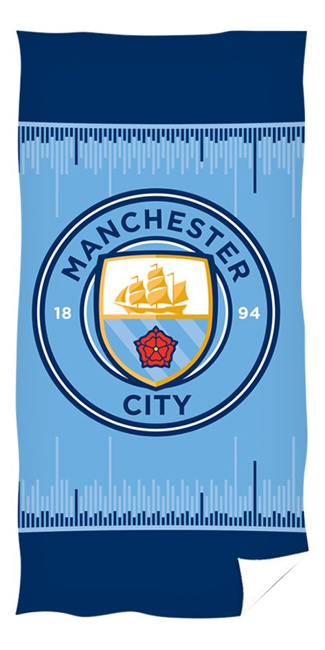 Afbeelding van Strandlaken Manchester City blauw 70x140 cm from DreamLand