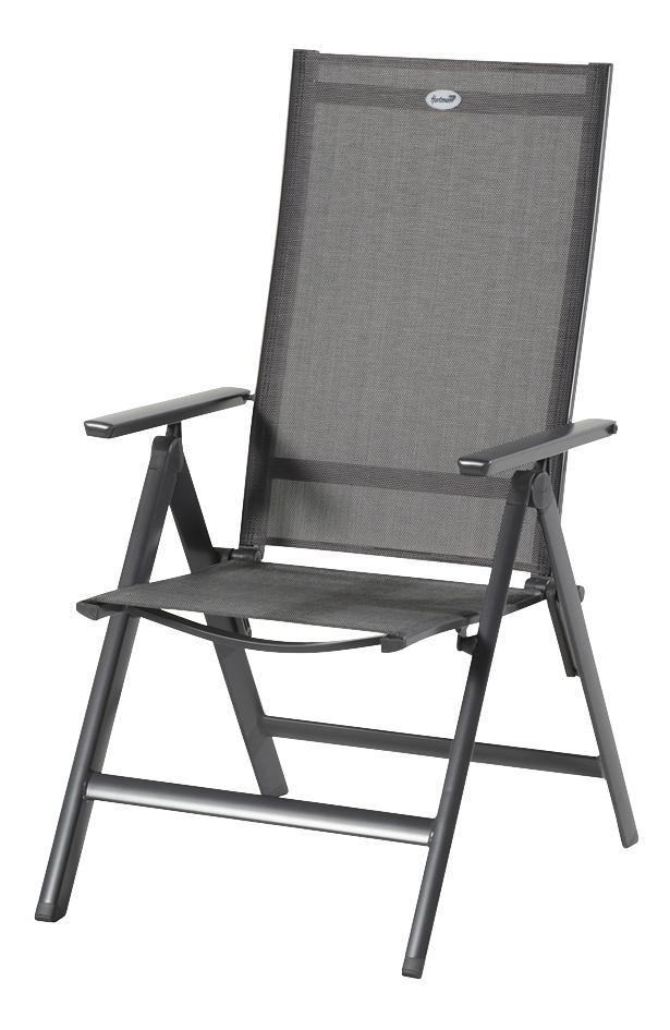 Hartman chaise de jardin réglable Sydney anthracite