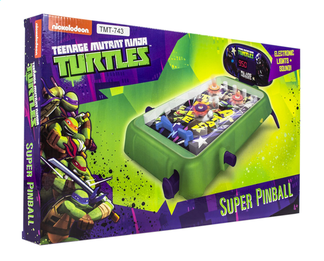Afbeelding van Flipperkast Teenage Mutant Ninja Turtles Super Pinball from DreamLand