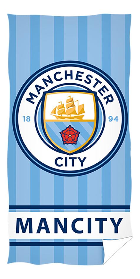 Afbeelding van Strandlaken Manchester City blauw 70 x 140 cm from DreamLand
